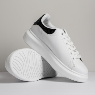 Pantofi sport de dama FM albe 2