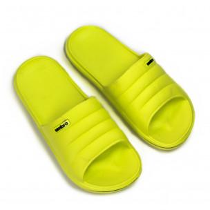 Papuci de dama Umbro galbeni 2