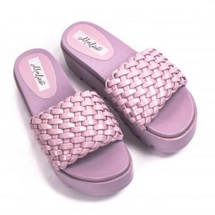 Papuci de dama Malien mov