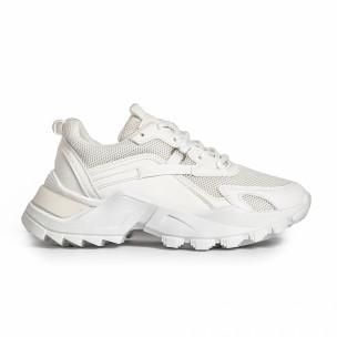 Pantofi sport de dama FM albe