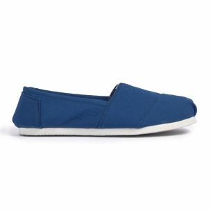 Espadrile bărbați Fashionmix albastre  2
