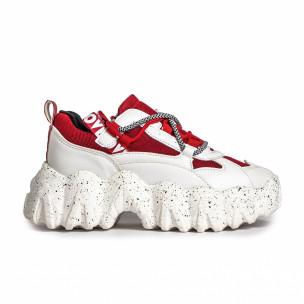 Pantofi sport de dama Sergio Todzi roșii