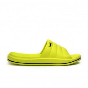 Papuci de dama Umbro galbeni