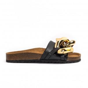 Papuci de dama Ciaodea negri