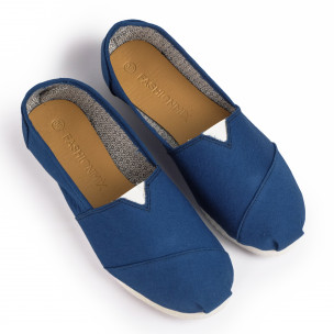 Espadrile bărbați Fashionmix albastre