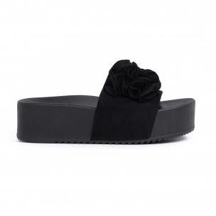 Papuci de dama Mellisa negri