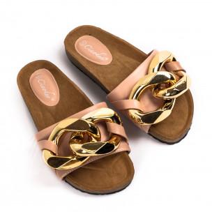 Papuci de dama Ciaodea roz 2