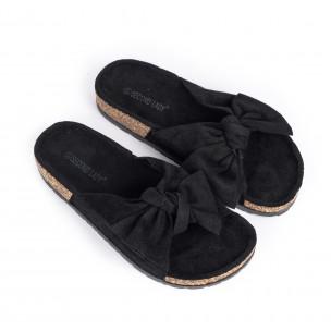 Papuci de dama Second Lady negri 2