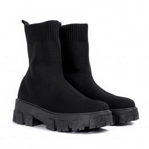 Pantofi sport de dama Diamantique negre 2
