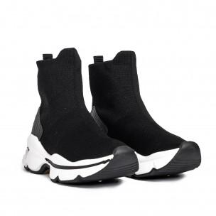 Pantofi sport de dama Yes Bonbon negre 2