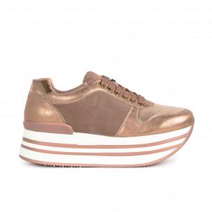 Pantofi sport de dama Martin Pescatore roz
