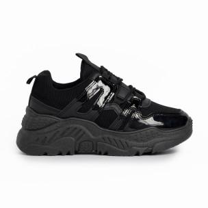 Pantofi sport de dama FM negre