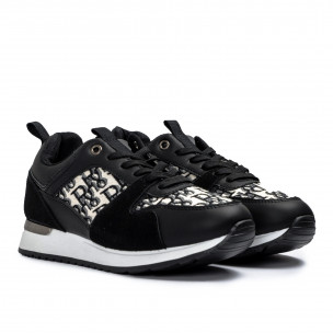 Pantofi sport de dama Romansiaga negre 2