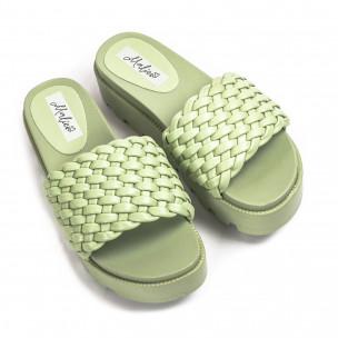 Papuci de dama Malien verzi
