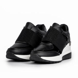 Pantofi sport de dama Mellisa negre 2