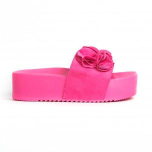 Papuci de dama Mellisa roz