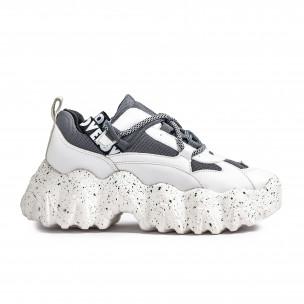 Pantofi sport de dama Sergio Todzi gri