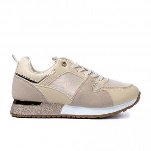 Pantofi sport de dama Janessa bej