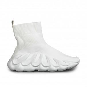 Pantofi sport de dama Fashion&Bella albe Fashion&Bella