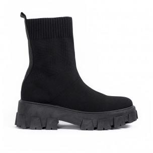 Pantofi sport de dama Diamantique negre