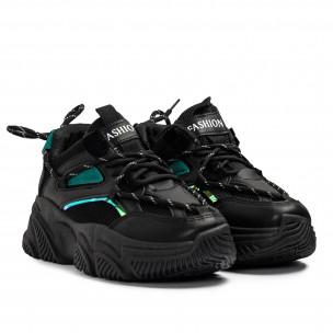 Pantofi sport de dama GoGo negre 2