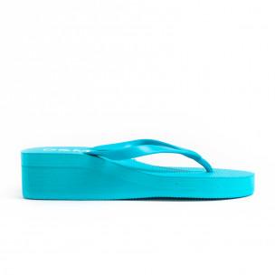 Papuci de dama D&M albaștri