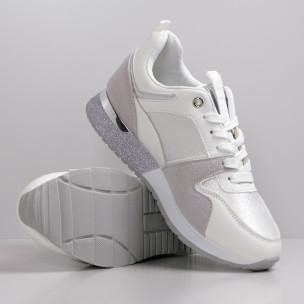 Pantofi sport de dama Janessa albe 2