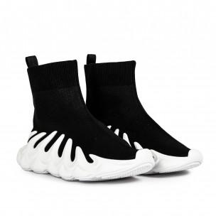 Pantofi sport de dama Fashion&Bella negre Fashion&Bella 2