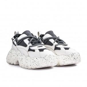 Pantofi sport de dama Sergio Todzi gri 2