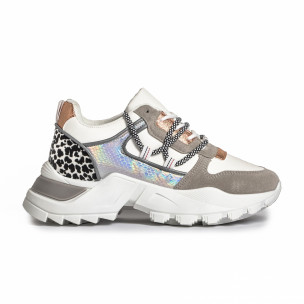 Pantofi sport de dama FM gri
