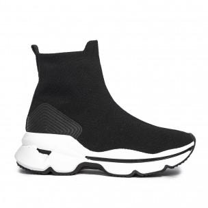 Pantofi sport de dama Yes Bonbon negre