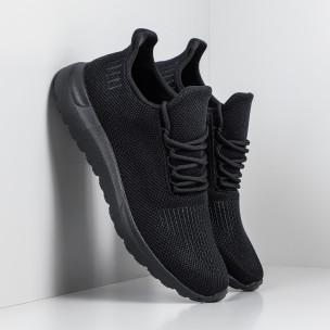 Adidași All black pentru bărbați model ușor