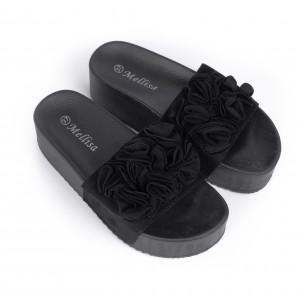 Papuci de dama Mellisa negri 2