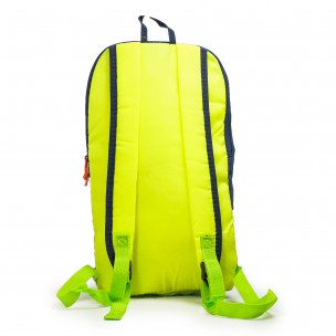 Rucsac Blue-Yellow Fluo 2