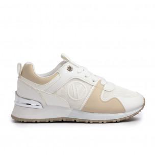 Pantofi sport de dama Lisa-w albe