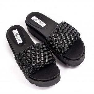 Papuci de dama Malien negri