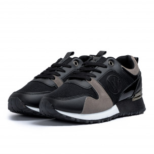 Pantofi sport de dama Lisa-w negre 2