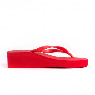 Papuci de dama D&M roșii