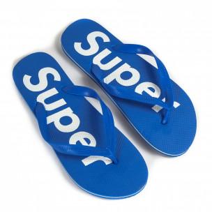 Papuci bărbați Jomix albaștri