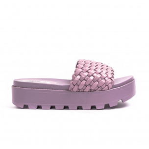 Papuci de dama Malien mov 2