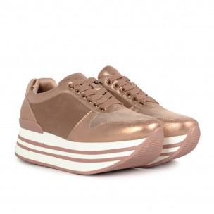 Pantofi sport de dama Martin Pescatore roz 2