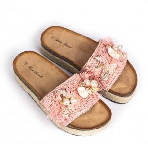 Papuci de dama Mix Feel roz 2