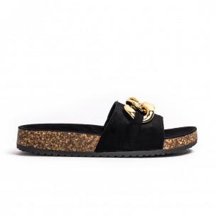 Papuci de dama Bestelle negri