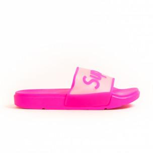 Papuci de dama Queen Vivi roz 2