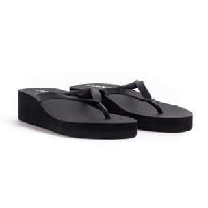 Papuci de dama D&M negri 2