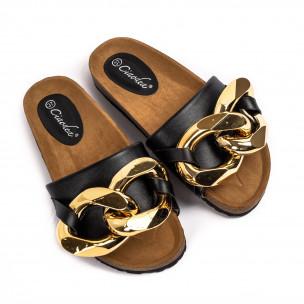 Papuci de dama Ciaodea negri 2