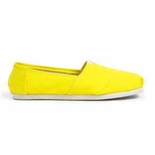 Espadrile bărbați Basic galbene  2
