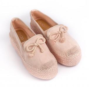 Espadrile de dama GoGo roz