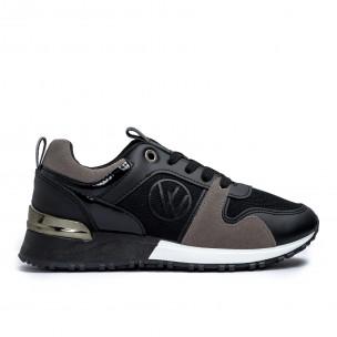 Pantofi sport de dama Lisa-w negre