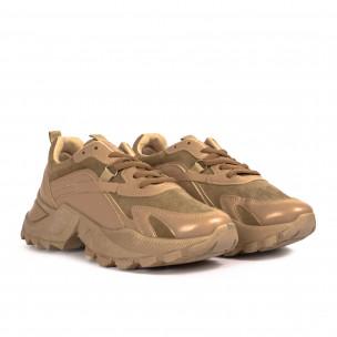 Pantofi sport de dama Fashion&Bella bej Fashion&Bella 2